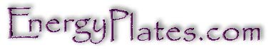 Purple positive energy plates raise vibrational frequency